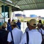 Di GS1, PT Chevron Pacific Indonesia, mendengar penjelasan produksi minyak #Jurnalis Sadar Energi